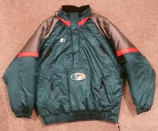 Miami Dolphins Starter Jacket Rare Vintage Pro Line NFL Football Pullover Sz XL
