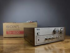 SONY TA-1630 Integrated Amplifier (1975-77). Made in Japan. Boxed.  99p NR