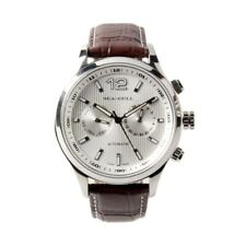 Seagull Day Date Dual Time Display Guilloche Arabic Numerals Automatic Watch