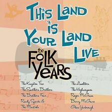 This Land Is Your Land Live: Folk Years CD