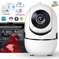 1080P Wireless Smart IP WiFi HD IR PTZ Home Security Camera 2 Way Audio Monitor