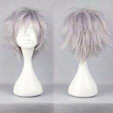mega Thick 150g 30cm Short Straight Cosplay Wig Glueless Halloween Costume Wigs