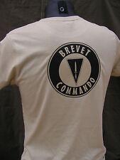 """..:: T-shirt ::.. TAN / COYOTE """" BREVET COMMANDO """" BELGE ABL BELGIUM PARA CODO"""