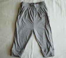 Ouch Girls Harem Genie Boho Aladdin Long Pants Grey Elastic Waist - Size 3 NEW