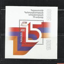 ARMENIA. Año: 2006.Tema: 15º ANIV. DE LA INDEPENDENCIA.