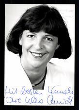 Ursula Schmidt AUTOGRAFO MAPPA ORIGINALE FIRMATO # BC 29604