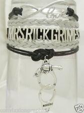 MRS RICK Grimes Infinity Bracelet The Walking Dead Fan Python Gun Sheriff TWD