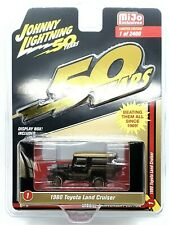 Johnny Lightning Toyota Land Cruiser 1980 Black and Gold Series 1/64