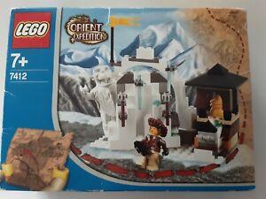 LEGO ORIENT EXPEDITION 7412 VERSTECK DES YETI NEU OVP UNGEÖFFNET 2003 (B-WARE)