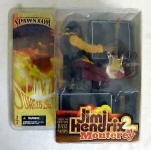 2004 Jimi Hendrix 2 at Monterey Action Figure McFarlane Toys Brand New Sealed