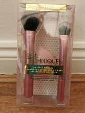 Real Techniques Limited Edition - Perfect Base - Face & Cheek Brush Set New
