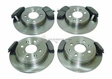 ROVER 200 400 25 45 FRONT & REAR BRAKE DISCS AND PADS SOLID FRONT SOLID REAR
