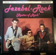"Jezebel-Rock‎ – Routes Of Rock 10"" 25 cm. 1980 Big Beat Records BB 801 Mint"