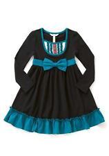 MATILDA JANE Sense Of Wonder Dress Girl's 2 NWT Bow Tuxedo Once Upon A Time