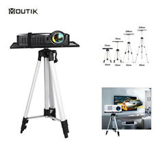 More details for projector stand heavy duty tripod height adjustable 53-136cm for home office