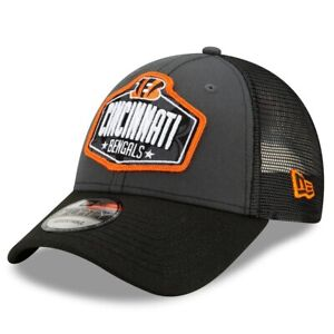 Cincinnati Bengals New Era 2021 NFL Draft Trucker 9FORTY Snapback Adjustable Hat
