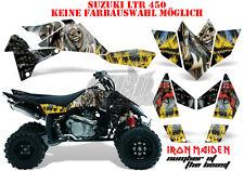 Amr racing décor Graphic Kit ATV suzuki ltr 450 Lt-r Iron Maiden-n.o.t.b. B