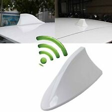 For Toyota Corolla Car White Shark Fin Roof Antenna Radio FM/AM Signal Aerial