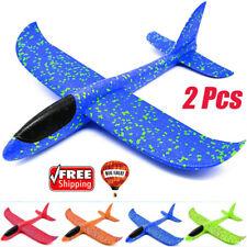 35/48cm EPP Foam Hand Throw Airplane Outdoor Launch Glider Plane Kid Toy Gift aa