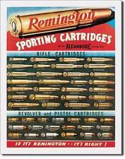 Remington estilo vintage revolver and Pistols estados unidos metal cartel escudo
