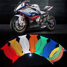 Hot Sale 16 Strips Reflective Motorcycle Car Rim Stripe Wheel Decal Tape Sticker