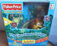 FISHER PRICE THE LION SLEEPS TONIGHT BOARD GAME - 2003 RARE - COMPLETE VGC