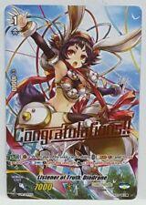 """Cardfight!! Vanguard Listener of Truth, Dindrane V-PR/0042EN """"CONGRATULATIONS"""""""