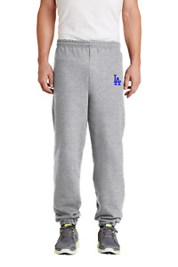 Los Angeles Dodgers Embroidered Sweat Pants no pockets