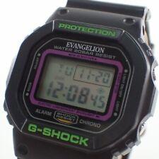 Casio G-SHOCK GDW-5600VT EVANGELION First Machine Model Men's Watch Japan F/S