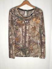 Under Armour Women's Small Threadborne Camo Hunting LS Shirt 1298753 946 $25 off