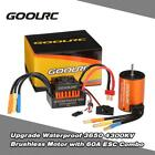New GoolRC 3650 4300KV Brushless Motor + 60A ESC Combo Set for 1/10 RC Truck Car