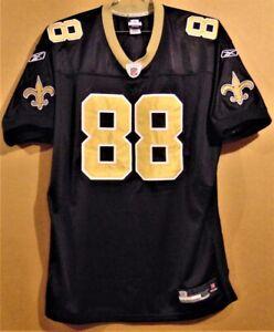 NEW ORLEANS SAINTS JEREMY SHOCKEY Black #88 AUTHENTIC NFL Size 54 JERSEY