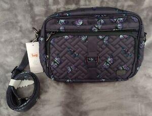 Lug Carousel XL Crossbody Bag - Butterfly Grey - NWT