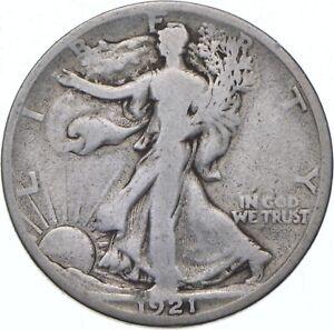 1921-S Walking Liberty Half Dollar - TC *534