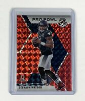 Deshaun Watson 2020 Panini Mosaic Pro Bowl Red Prizm - Houston Texans
