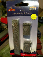 Bachmann Scenecraft 44-555 Stone Walls and Gates OO scale