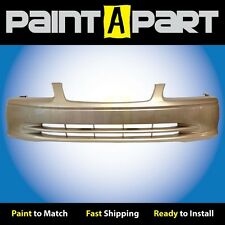 2000 2001Toyota Camry Front Bumper Painted 4M9 Cashmere Beige Metallic