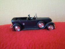 VOITURE MINIATURE 1/43 - FIAT 525N SOLIDO - 1929 METAL CABRIOLET