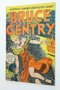 BRUCE GENTRY # 3 - 1949 - SUPERIOR - CANADIAN EDITION - One Way to the Grave!
