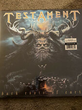 Testament - Dark Roots of Earth 2x LP Electric Blue Vinyl NEW Limited To 1000