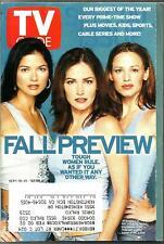 TV GUIDE-9/2001-FALL PREVIEW-24-UNDECLARED-THE GUARDIAN-SCRUBS-ENTERPRISE-REBA