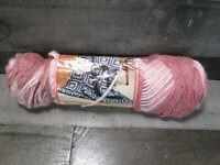 Vintage Caron Dazzleaire Yarn 2838 Rose Ombre Variegated Pink Worsted Acrylic