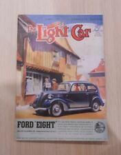 THE LIGHT CAR MAGAZINE 7 OCT 1938 - Ford 8, 1939 Models, French Light Cars ++