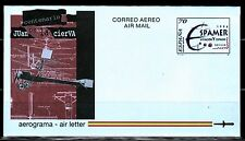 ESPAÑA AEROGRAMAS 1996 21 Espamer. Aviación y Espacio 1v.