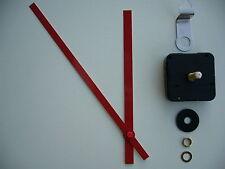 Alto esfuerzo de torsión Movimiento de Reloj Extra larga de ejes 200MM Rojo batuta Manos De Metal