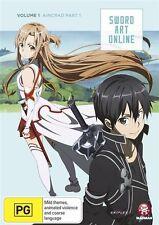 Sword Art Online Vol. 1 Aincrad Part 1 (Eps 1-7) NEW R4 DVD