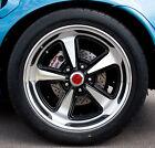17x8 17x9 18x8 18x9 Pontiac Rally II Cast Wheels SET of 4 + CAPS Fit Chevy Also