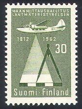 Finland 1962 Survey Plane/Aviation/Transport/Maps/Charts/Cartography 1v (n40965)