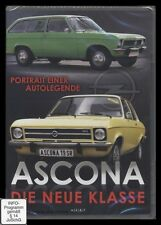 DVD ASCONA (Opel) DIE NEUE KLASSE ******** NEU ********
