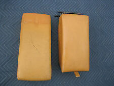 Mercedes W123 Palomino Leather Rear Seat Arm Rest & Center Seat  280CE 300CD